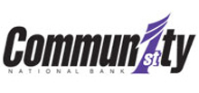 Community First National Bank home page